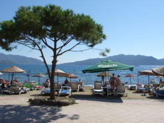 Marmaris Atlantis Su Parkı Plaj