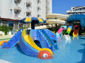 Marmaris Atlantis Su Parkı Çocuk Havuzu Kaydırakları