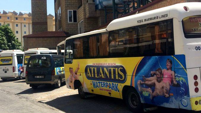 Atlantis Su Parkı Transfer Araçları
