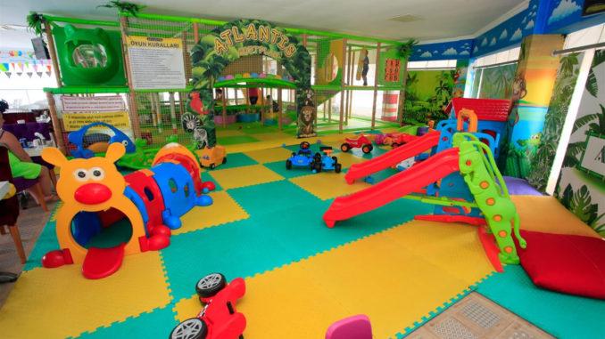 Çocuk Oyun Alanları Marmaris Atlantis Su Parkı